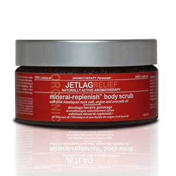 Aromatherapy Personals™ Jet Lag Relief Mineral-Replenish™ Body Scrub