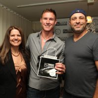 TV Personality Casey with Nuworld Botanicals Linda Ieraci and Johnny Cascella