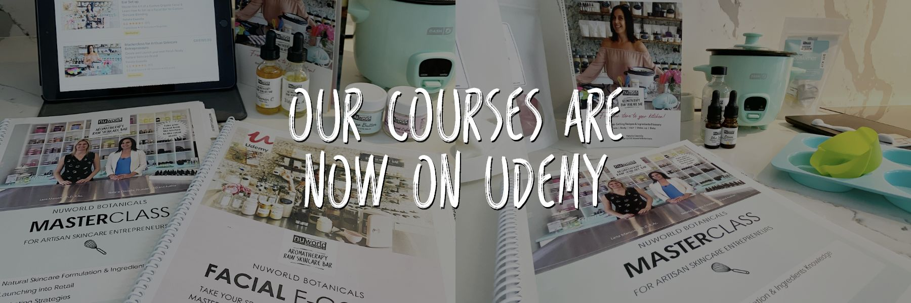 Our courses are now on Udemy