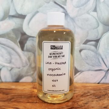 Organic Macadamia Nut Oil-250ml
