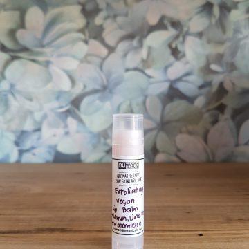 Exfoliating Vegan Lip Balm (Lemon-Lime Scent) 5g