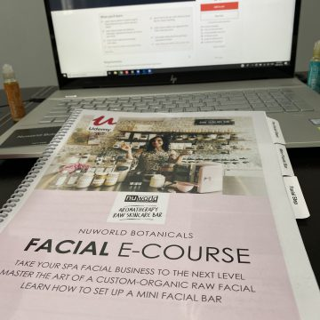 Nuworld Botanicals Facial Spa Course Workbook