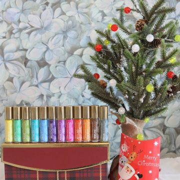2pc Aromatherapy Personals™ Roll-on Holiday Gift Set