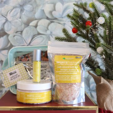 3pc Aromatherapy Personals™ Sports Therapy Holiday Gift Set