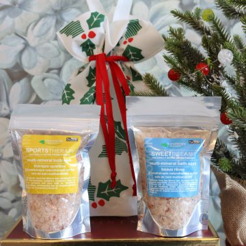 2pc Aromatherapy Personals™ Bath Soak Holiday Gift Set (Sweet Dreams & Sports Therapy)