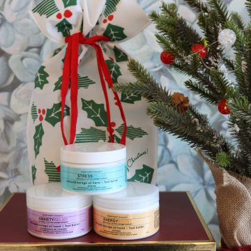 3pc Aromatherapy Personals™ Hand and Foot Butter Gift (Stress Relief, Energy Boost, Anxiety Relief)