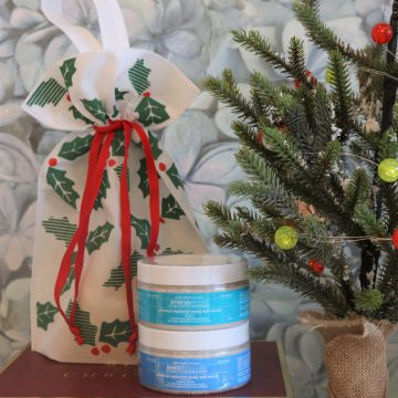 2pc Aromatherapy Personals™ Mineral Salt Scrub Holiday Gift Set (Stress Relief & Sweet Dreams)