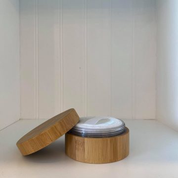Bamboo Loose Powder Cosmetic Jar (30g)